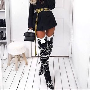Cape Robbin Over the Knee Cowgirl Boots